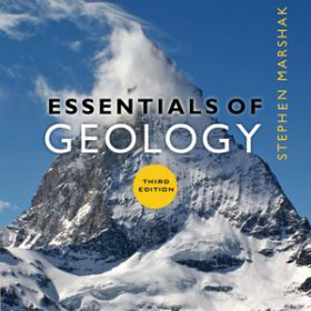 Test Bank for Essentials of Geology, 3rd Edition, Stephen Marshak, ISBN 9780393932386