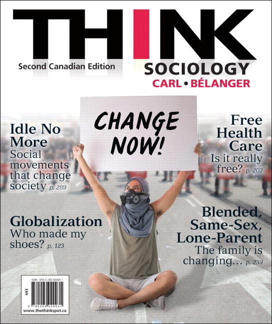 Solution manual for think sociology second canadian edition 2e carl solution manual download only for think sociology second canadian edition 2e john d carl marc belanger isbn 10 0205929931 isbn 13 9780205929931 fandeluxe Gallery