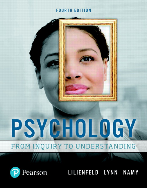 Test Bank for Psychology: From Inquiry to Understanding 4e Lilienfeld