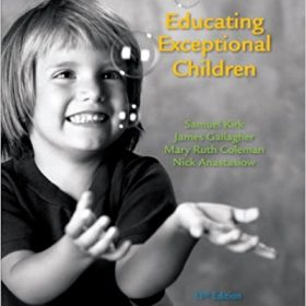 Solution Manual for Educating Exceptional Children 13e Kirk