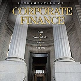 Solution Manual for Fundamentals of Corporate Finance 9ce by Ross