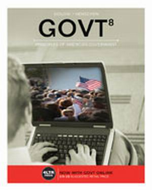 Solution Manual for GOVT 8e Sidlow