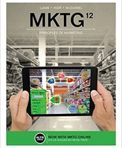 Solution Manual for MKTG 12e Lamb
