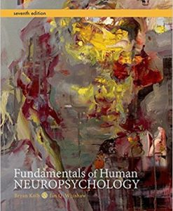 Test Bank for Fundamentals of Human Neuropsychology 7e by Kolb