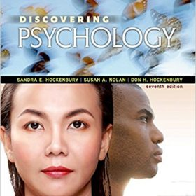Test Bank for Discovering Psychology 7e by Hockenbury