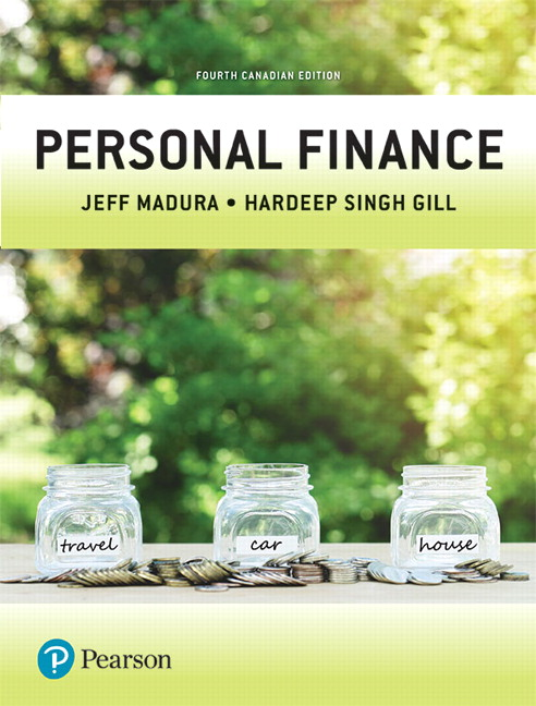 Test Bank for Personal Finance 4e Canadian Madura