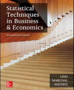 Test Bank for Statistical Techniques in Business and Economics 17e By Lind