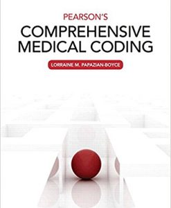 Test Bank for Pearsons Comprehensive Medical Coding 1e by Boyce