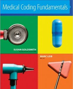 Test Bank for Medical Coding Fundamentals 1e by Goldsmith