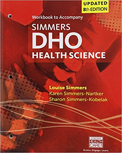 Test Bank for DHO Health Science 8e by Simmers