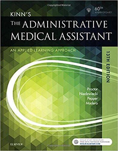 Test Bank for Kinns The Administrative Medical Assistant 13e by Proctor