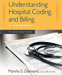 Test Bank for Understanding Hospital Coding and Billing 3e by Diamond