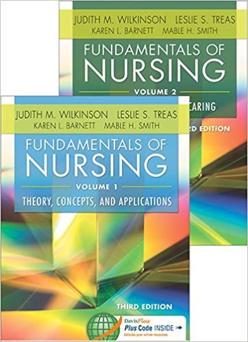 Test Bank for Fundamentals of Nursing 3e by Wilkinson