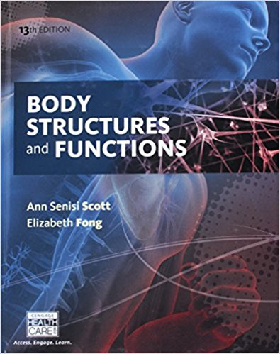 Test Bank for Body Structures and Functions 13e by Scott