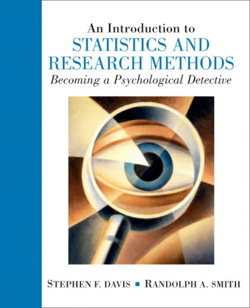 Test Bank for An Introduction to Statistics and Research Methods: Becoming a Psychological Detective 1e Davis