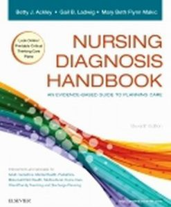 Solution Manual for Nursing Diagnosis Handbook 11e Ackley