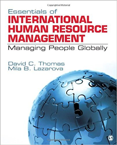Solution Manual for Essentials of International Human Resource Management Managing People Globally 1e Thomas