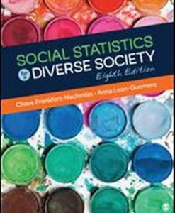 Test Bank for Social Statistics for a Diverse Society 8e Frankfort-Nachmias