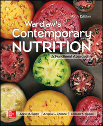 Test Bank for Wardlaw's Contemporary Nutrition: A Functional Approach 5e By Smith