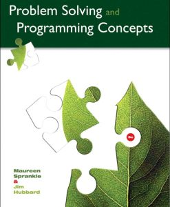Test Bank for Problem Solving and Programming Concepts 9e Sprankle
