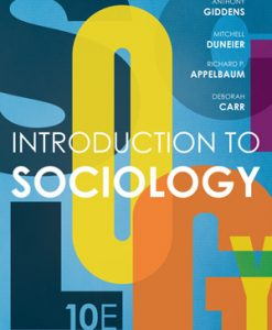 Test Bank for Introduction to Sociology 10e Giddens