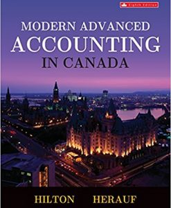 Solution Manual for Modern Advanced Accounting in Canada 8e by Hilton