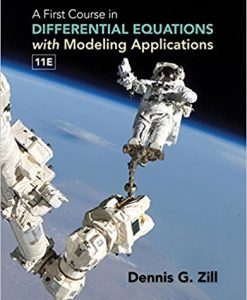 Solution Manual for A First Course in Differential Equations with Modeling Applications 11e Zill