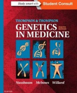 Test Bank for Thompson & Thompson Genetics in Medicine 8e Nussbaum