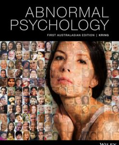Test bank for Abnormal Psychology 1st Edition by Kring