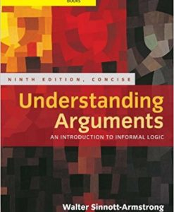 Solution manual for Understanding Arguments 9th Edition by Sinnott-Armstrong