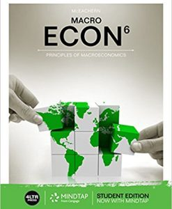 Solution manual for ECON MACRO 6th Edition by Mceachern