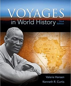 Test bank for Voyages in World History 3rd Edition by Hansen
