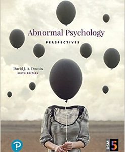 Test Bank Abnormal Psychology Perspectives 6E Dozois