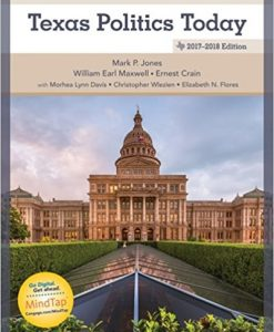 Test bank for Texas Politics Today 8th Edition by Jones