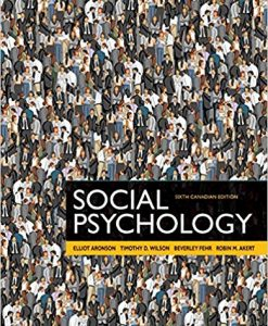 Test Bank Social Psychology 6E Aronson