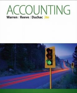 Test bank for Accounting 26th Edition Carl S. Warren