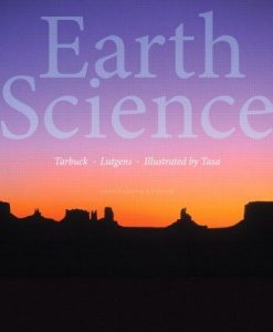Solution manual Earth Science 14E Tarbuck