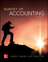 Test Bank Survey Of Accounting 5E Edmonds