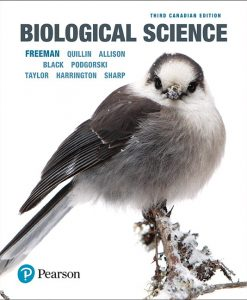 Solution Manual For Biological Science, 3rd Canadian Edition By Scott Freeman, Kim Quillin,Lizabeth Allison,Michael Black,Greg Podgorski, Emily Taylor, Jeff Carmichael, Michael Harrington, Joan C. Sharp, ISBN-10: 0134741625, ISBN-13: 9780134741628