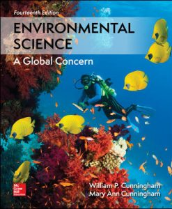 Solution Manual (Download Only) For Environmental Science 14th Edition By William Cunningham ,Mary Cunningham,ISBN10: 125963115X,ISBN13: 9781259631153