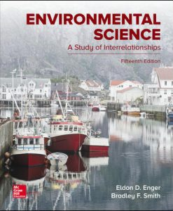 Solution Manual (Download Only) For Environmental Science 15th Edition By Eldon Enger,Bradley Smith, ISBN10 1259916812, ISBN 13 9781259916816