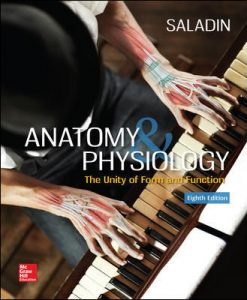 Solution Manual (Download Only) for Anatomy & Physiology The Unity of Form and Function 8th Edition By Kenneth Saladin ISBN 10 1259277720,ISBN 13 9781259277726
