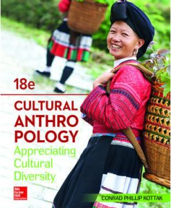 Solution Manual (Download Only) For Cultural Anthropology 18th Edition By Conrad Kottak, ISBN 10: 1260051919, ISBN 13: 9781260051919