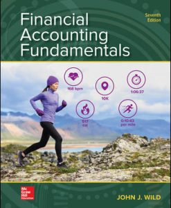 Solution Manual (Download Only) for Financial Accounting Fundamentals 7th Edition By John Wild ISBN 10: 1260247864, ISBN 13: 9781260247862