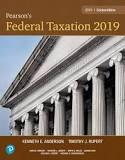 Solution Manual for Pearson's Federal Taxation 2019 Corporations, Partnerships, Estates & Trusts, 32nd Edition By Timothy J. Rupert,Kenneth E. Anderson,ISBN-13:9780134692739